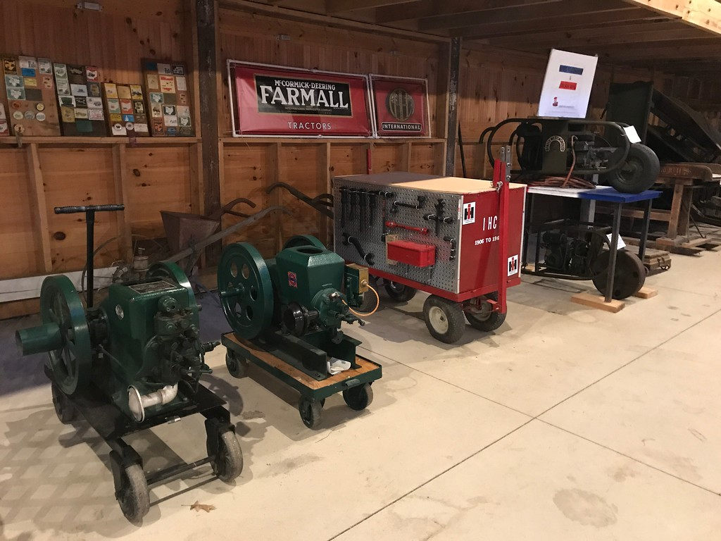 . Machinery is on display at the 172nd Lorain County Fair, 23000 Fairgrounds Rd in Wellington. The Fair runs from Aug 21-27 this year and general admission is $5. (Harley Marsh/The News-Herald)