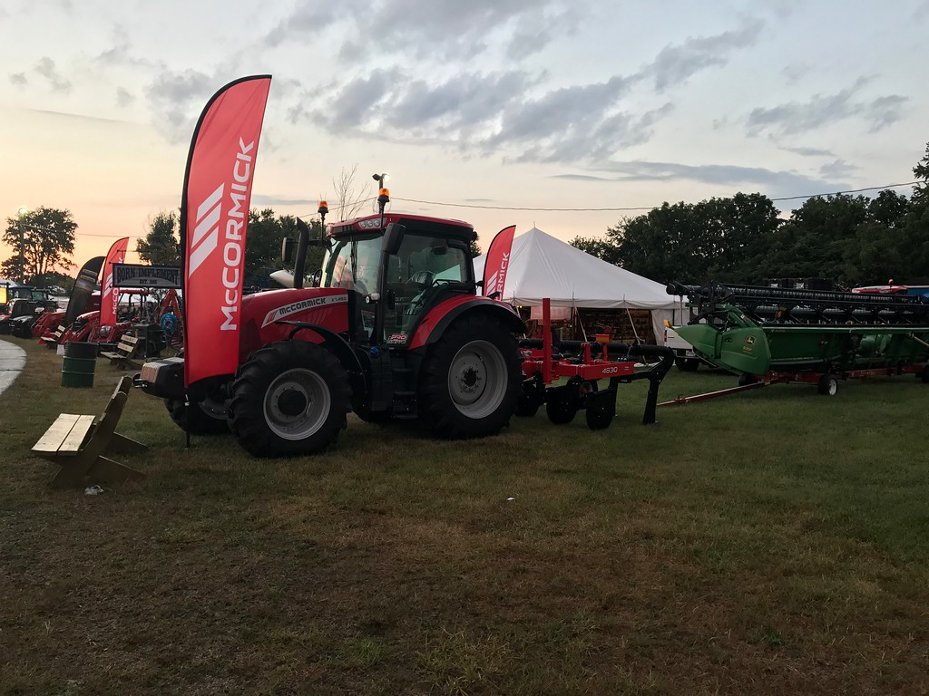 . Tractors are on display at the 172nd Lorain County Fair, 23000 Fairgrounds Rd in Wellington. The Fair runs from Aug 21-27 this year and general admission is $5. (Harley Marsh/The News-Herald)