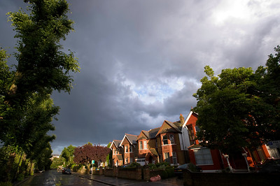 Ealing Common, houses, London, United Kingdom