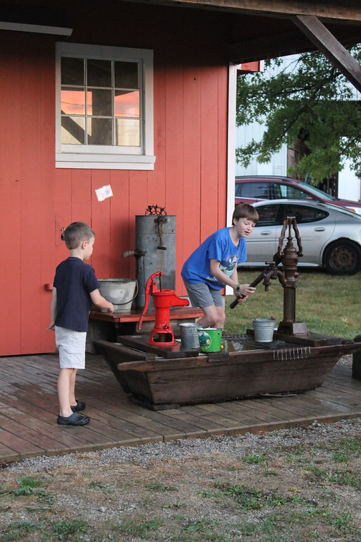 . A blacksmith is featured at this year\'s Lorain County Fair. Admission to the fair is $5 and it runs until Sunday August 27. (Kailee Leonard/The News-Herald)