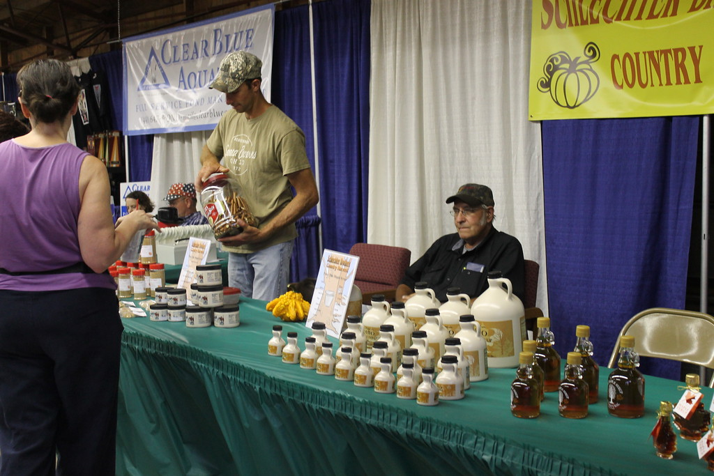 . Locally made honey and maple syrup is for sale at the Lorain County Fair. Admission to the fair is $5 and it runs until Sunday August 27. (Kailee Leonard/The News-Herald)