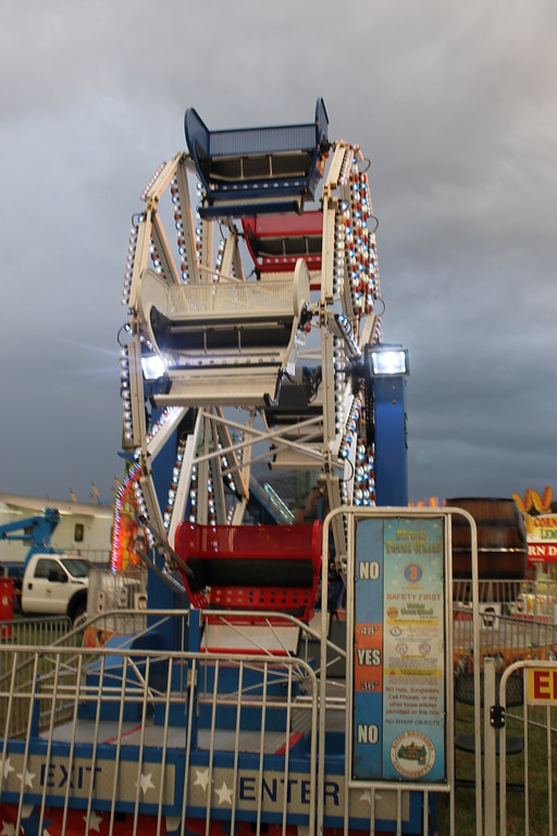 . The midway is full of rides at the Lorain County Fair. Admission to the fair is $5 and it runs until Sunday August 27. (Kailee Leonard/The News-Herald)