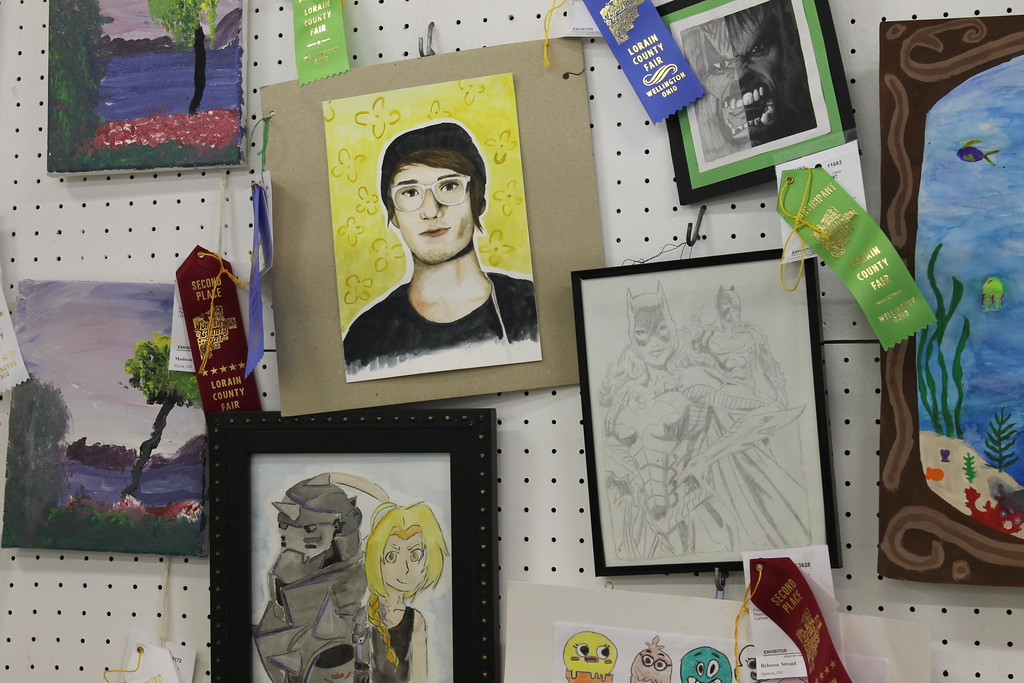 . Barns near the midway are dedicated to crafts at year\'s Lorain County Fair. Admission to the fair is $5 and it runs until Sunday August 27. (Kailee Leonard/The News-Herald)