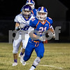 Sam Buckner for Shaw Media.<br /> Payton Phillips rushes the ball on Friday August 25, 2017 in a game against Rockford Lutheran.