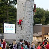 Jonathan Tressler — The News-Herald <br> The climibing wall was a popular attraction Aug. 26 at MentorCityFest.