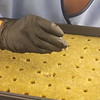 Tweezers are used to keep seeds for medical marijuana plants sterile as they  are placed the seeds for the medical marijuana plants into a tray with fibers woven to keep the right amount of moisture on seeds as they start to grow.<br /> Kristi Garabrandt - The News-Herald