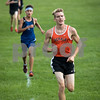 Sam Buckner for Shaw Media.<br /> Ben Allen runs at the Sycamore Invitational on Tuesday August 29, 2017.