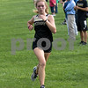 Sam Buckner for Shaw Media.<br /> Raegan Wesley runs at the Sycamore Invitational on Tuesday August 29, 2017.