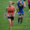 Sam Buckner for Shaw Media.<br /> Katherine Olsen runs at the Sycamore Invitational on Tuesday August 29, 2017.