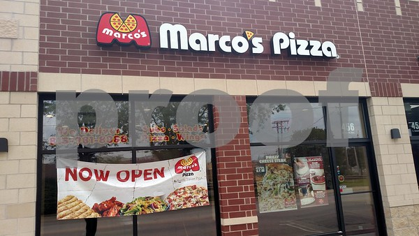 Drew Zimmerman – dzimmerman@shawmedia.com<br /> Drew Zimmerman – dzimmerman@shawmedia.com<br /> Marco's Pizza, one of the business occupying the new multi-use building on Fifth Street and Lincoln Highway in downtown DeKalb opened Aug. 21.