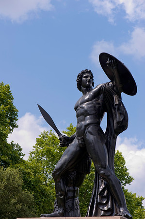 Hercules Statue, Hyde Park, W1, London, United Kingdom