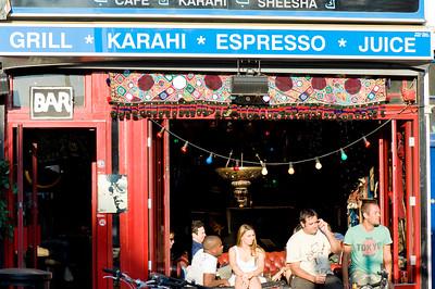 Bar on Brick Lane, East End, E1, London, United Kingdom