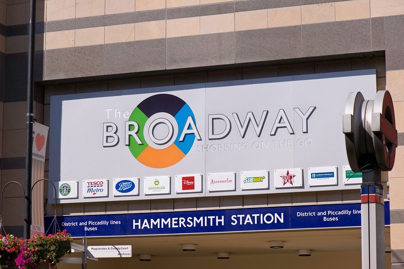 Broadway shopping centre, Hammersmith, W6, London, United Kingdom