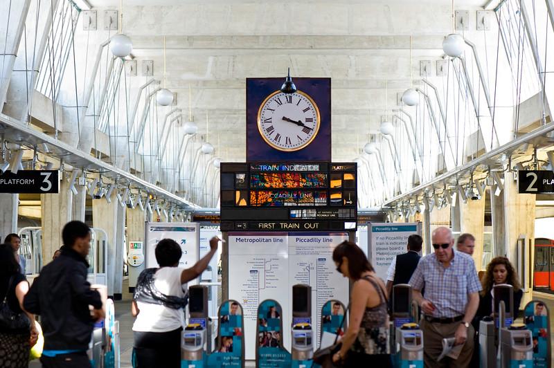 Underground Station, Uxbridge, Middlesex, United Kingdom