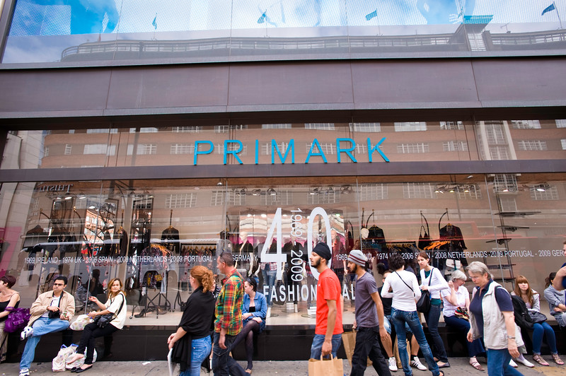 Primark department store, Oxford Street, London, United Kingdom