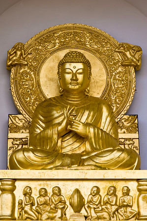 Buddhist Pagoda in Battersea Park, SW11, London, United KIngdom