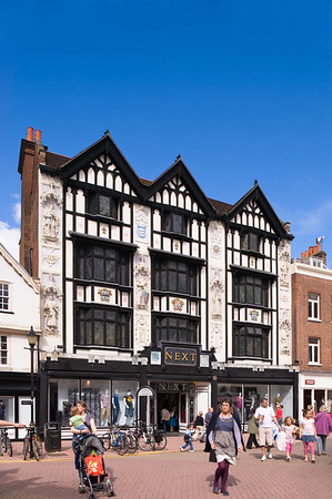Tudor style house on Market Place, Kingstone upon Thames, Surrey, United Kingdom