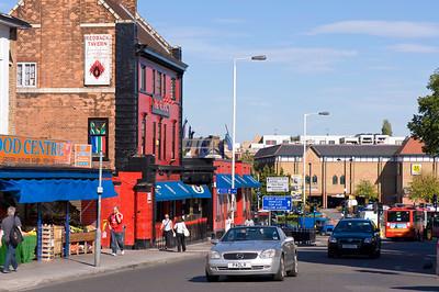 The Redback pub on Uxbridge Road, Acton, W3, London, United Kingdom