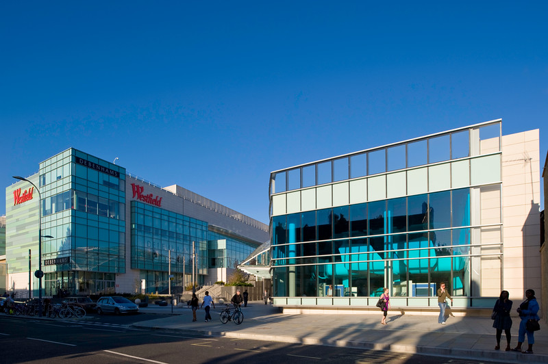 Newly built and modern Public Library, Shepherds Bush, W12, London, United Kingdom