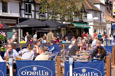 Oneills pub on Apple Square, Kingston upon Thames, Surrey, United Kingdom