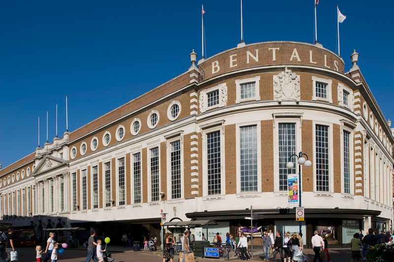 The Bentalls Shopping Centre, Kingston upon Thames, Surrey, United Kingdom