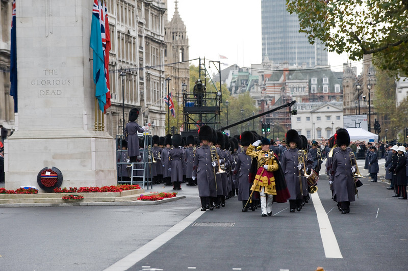 Remembrance Day, Sunday 8th Nevember 2009, London, United Kingdom