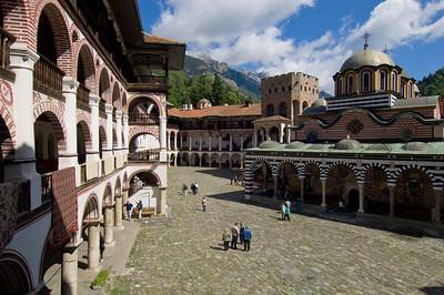 Rila Monastery, The Rila Mountains, Bulgaria