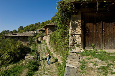 Leshten village, Rhodope Mountains, Bulgaria
