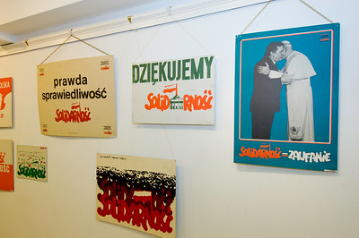 30th Anniversary of Solidarnosc Movement celebrations  in POSK with special guest Wladyslaw Frasyniuk, Hammersmith, London, United Kingdom