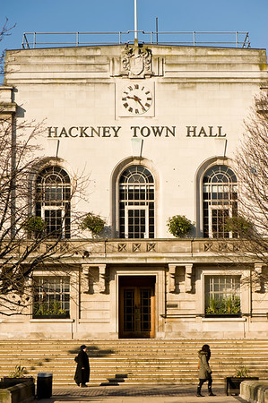 Hackney Town Hall, Hackney, E9, London, United Kingdom