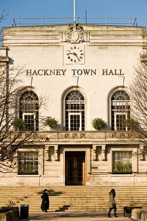 Hackney Town Hall, Hackney, E9, London, United Kingdom