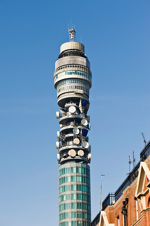 BT Tower, Fitzrovia, London, United Kingdom