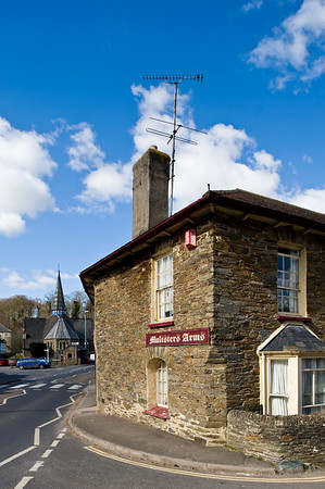 Local pub, Herbertonford, Devonshire, United Kingdom