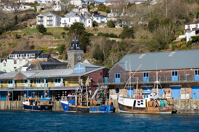 Boats in the harbour, Looe, Carnwall, United Kingdom