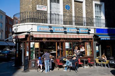 Cafe bar, Covent Garden, WC2, London, United Kingdom