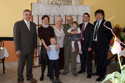 Wrona Family during Easter celebrations 2010 and my parents 50th wedding aniversary, Starachowice, Poland