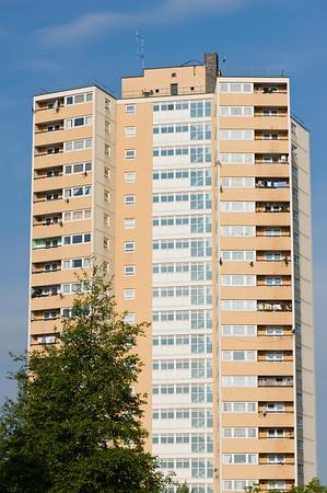 Apartment block, Acton, W3, London, United Kingdom