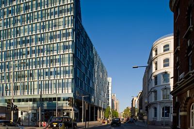 Modern building on Southwark Street, SE1, London, United Kingdom
