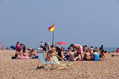 Pebble beach, Brighton, East Sussex, United Kingdom