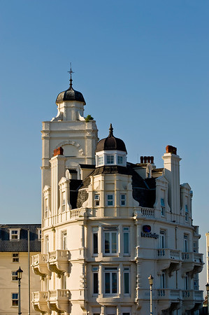 Seafront architecture, Eastbourne, East Sussex, United Kingdom