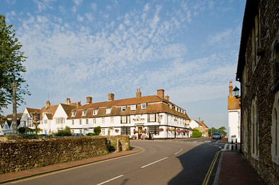 Ancient town of Winchelsea, East Sussex, United Kingdom