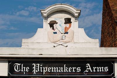 Pub sign, Rye, East Sussex, United Kingdom
