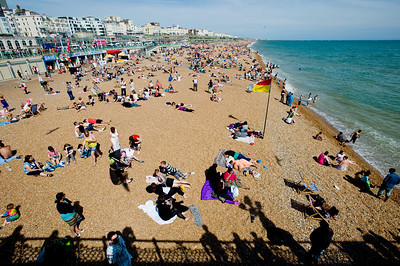 Beach & seafront, Brighton, East Sussex, United Kingdom
