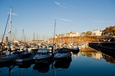 Harbour early morning, Ramsgate, Kent, United Kingdom