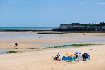 West Bay beach, Margate, Kent, United Kingdom