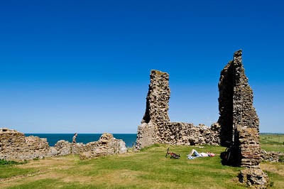 Reculver Towers & Roman Fort, Kent, United Kingdom