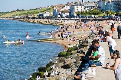 Seafront, Herne Bay, Kent, United Kingdom