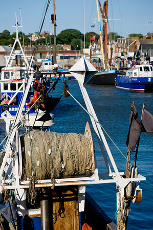 Fishing harbour, Whitstable, Kent, United Kingdom