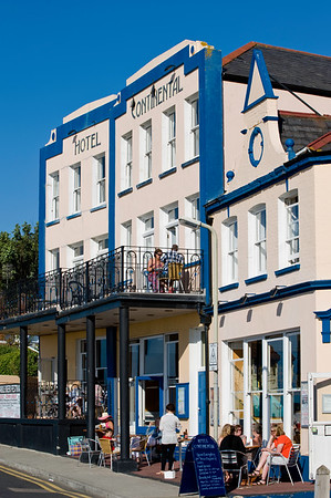Hotel Continental on the seafront, Whitstable, Kent, United Kingdom