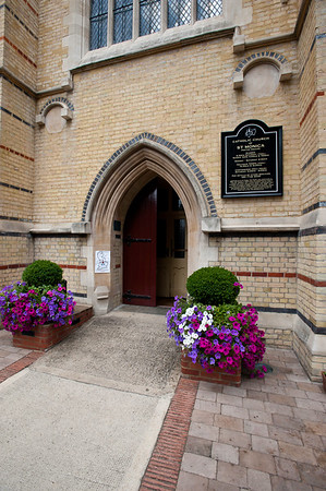 Catholic Church of St Monica, Hoxton Square, Hackney, London, United Kingdom